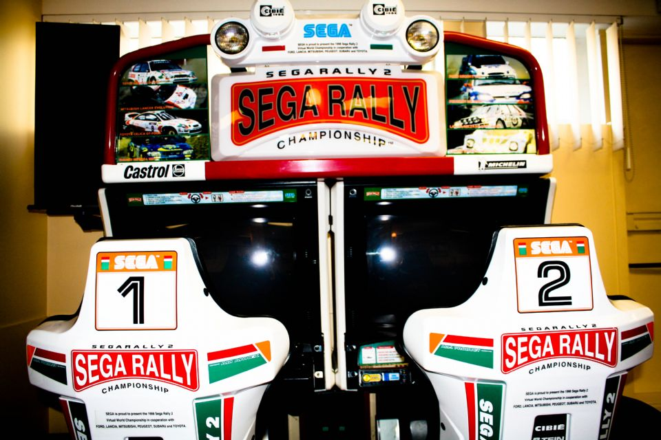 Sega Rally Game